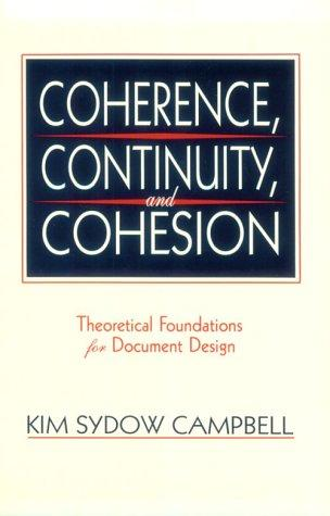 Download Coherence, Continuity, and Cohesion