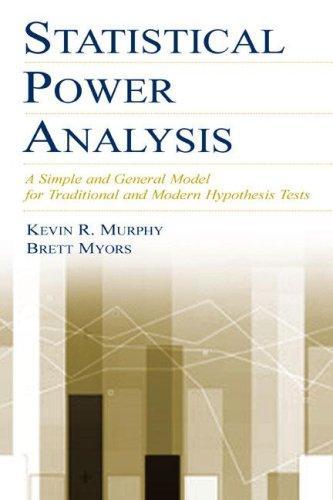 Download Statistical power analysis