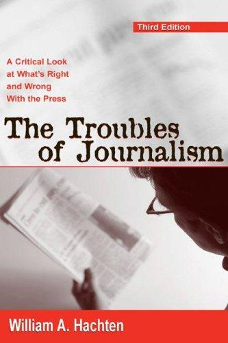 Download Troubles of Journalism