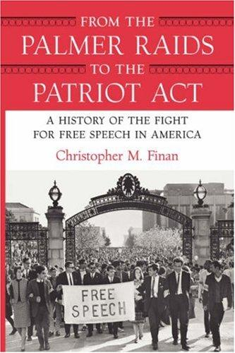 Download From the Palmer Raids to the Patriot Act