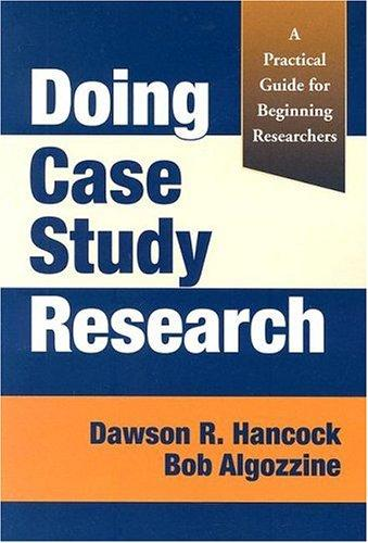 Download Doing Case Study Research