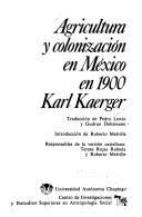 Download Agricultura y colonización en México en 1900