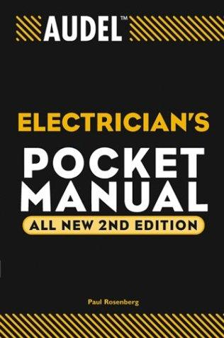Download Audel Electrician's Pocket Manual