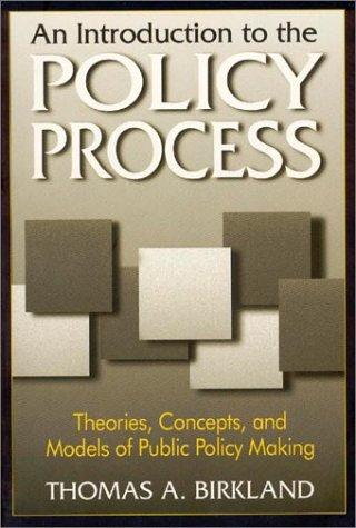 Download An Introduction to the Policy Process