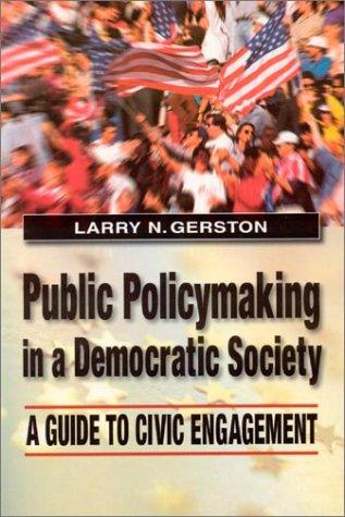 Download Public Policymaking in a Democratic Society