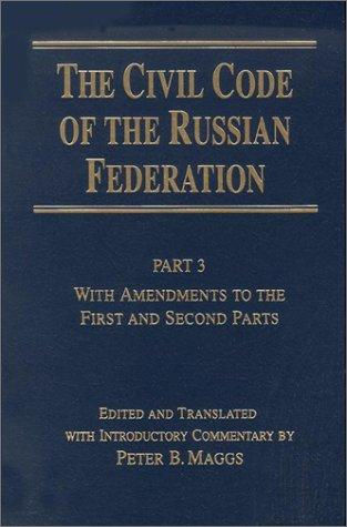 Download The Civil code of the Russian Federation