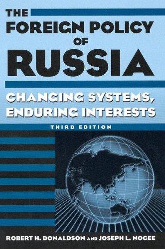 Download The foreign policy of Russia