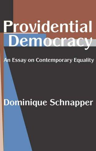 Download Providential democracy