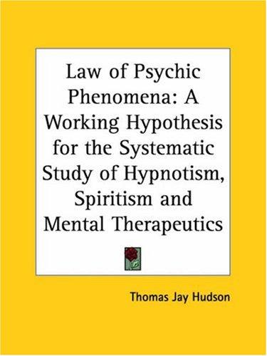Download Law of Psychic Phenomena