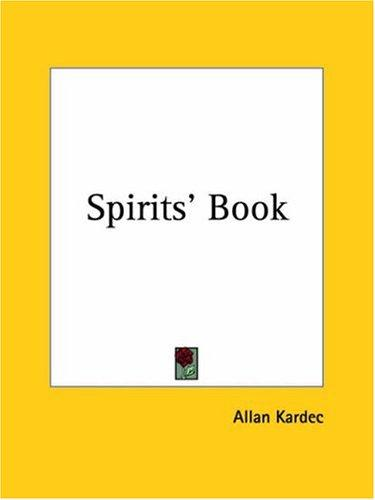 Download Spirits' Book