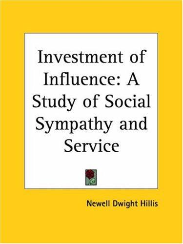 Investment of Influence