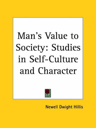 Download Man's Value to Society