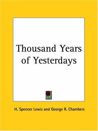 Download Thousand Years of Yesterdays