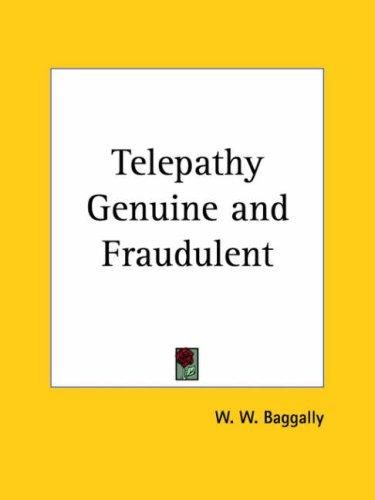 Download Telepathy Genuine and Fraudulent