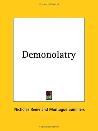 Download Demonolatry