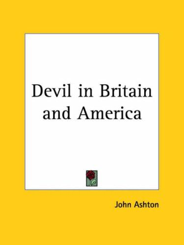 Devil in Britain and America