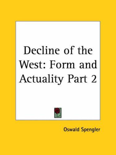 Download Decline of the West