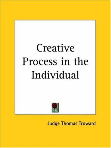 Download Creative Process in the Individual