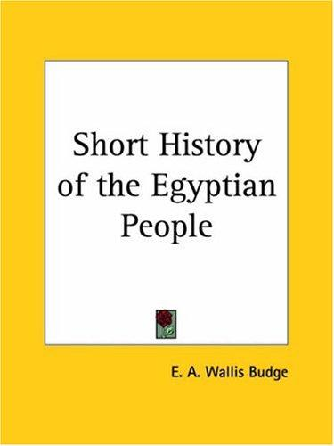 Download Short History of the Egyptian People