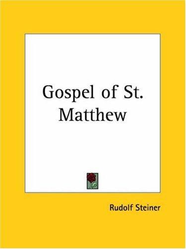 Download Gospel of St. Matthew