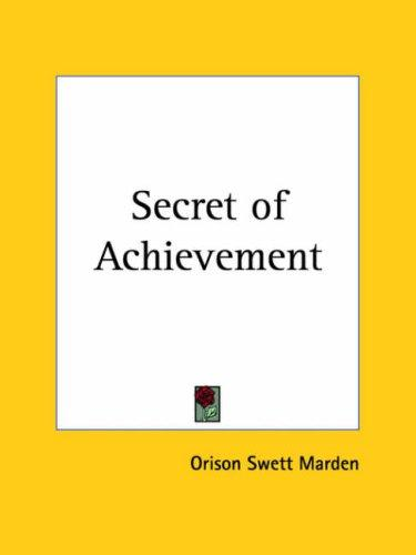Download Secret of Achievement