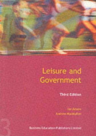 Download Leisure and Government