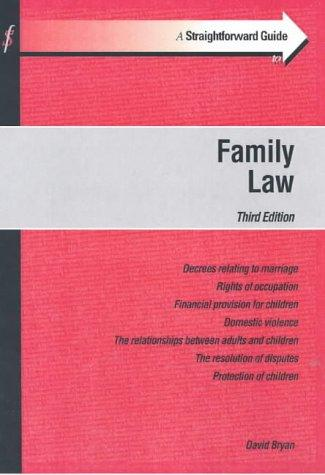 Download A Straightforward Guide to Family Law (Straightforward Guides)