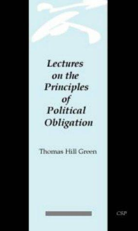 Download Lectures on the Principles of Political Obligation