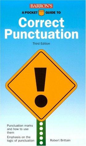 Download A pocket guide to correct punctuation