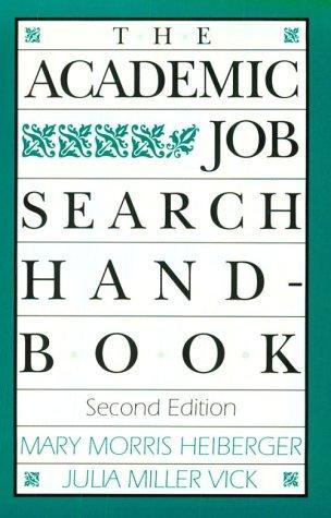 Download The academic job search handbook