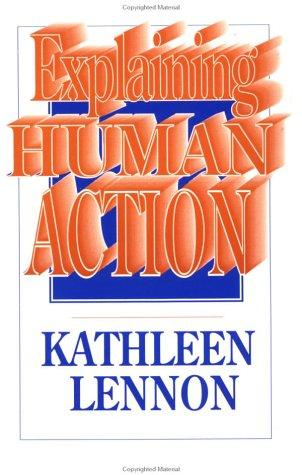 Explaining Human Action