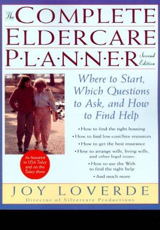 Download The complete eldercare planner