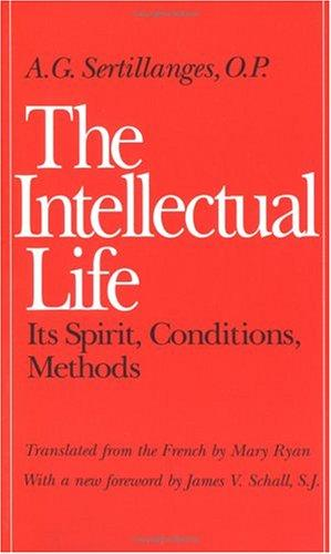 Download The Intellectual Life