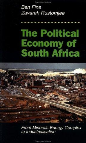 Download The Political Economy of South Africa