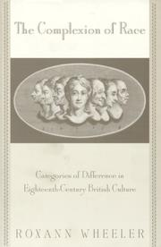 The Complexion Of Race: Categories Of Difference In Eighteenth-Century British Culture PDF Download