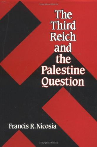 Download The Third Reich and the Palestine question