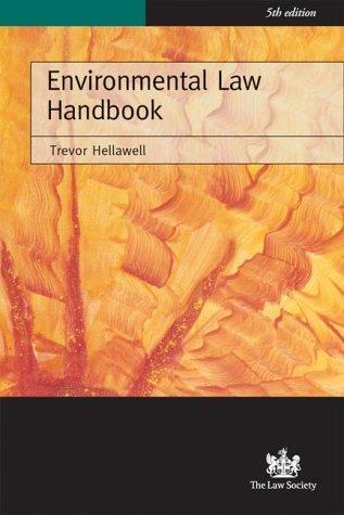 Download Environmental Law Handbook