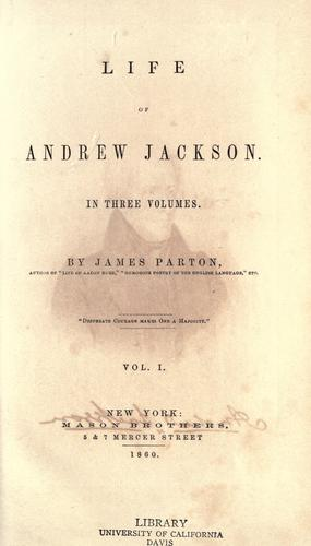 Download Life of Andrew Jackson …