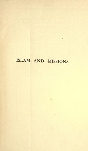 Download Islam and missions