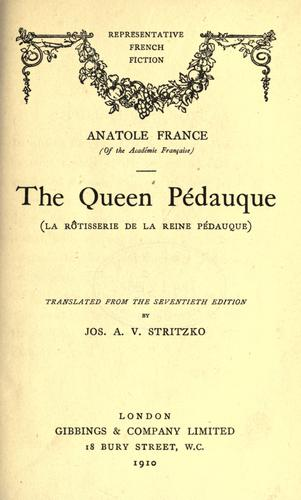 Download The Queen Pedauque.