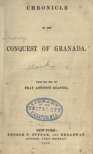 Chronicle of the conquest of Granada.