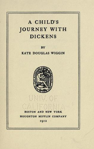 A child's journey with Dickens.