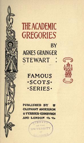 The academic Gregories