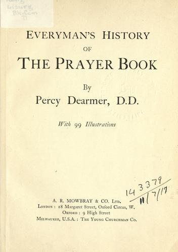 Download Everyman's history of the prayer book