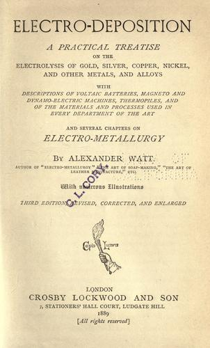 Electro-deposition