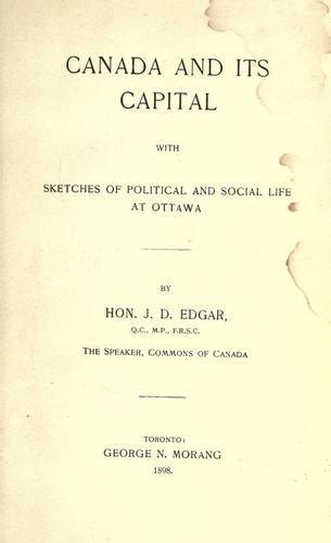 Canada and its capital