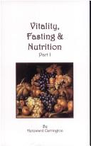 Download Vitality, Fasting and Nutrition