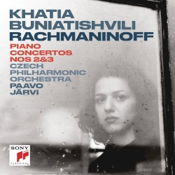 Piano Concertos nos. 2 & 3 by Rachmaninoff ;   Khatia Buniatishvili ,   Czech Philharmonic Orchestra ,   Paavo Järvi