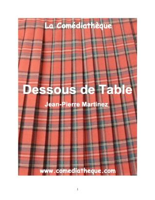 Cover of: Dessous de Table by