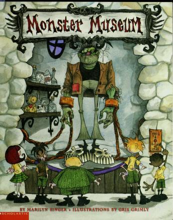 Cover of: Monster Museum | Marilyn Singer